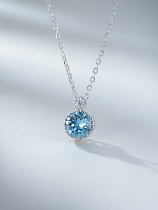 Ladies Fashion 925 Sterling Silver Necklaces