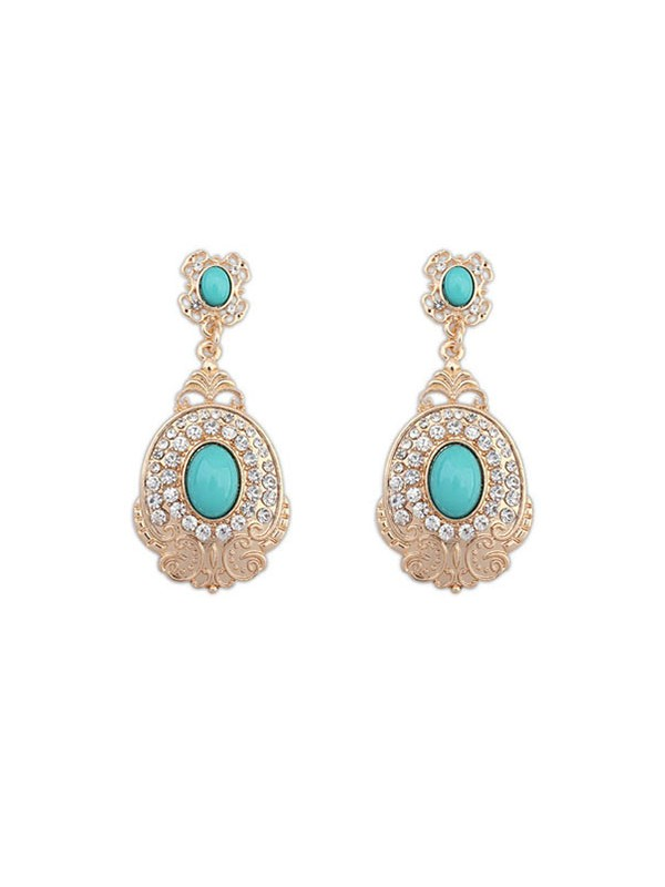 Occident Boutique Modeable Simple Vente chaude Boucles d'oreilles