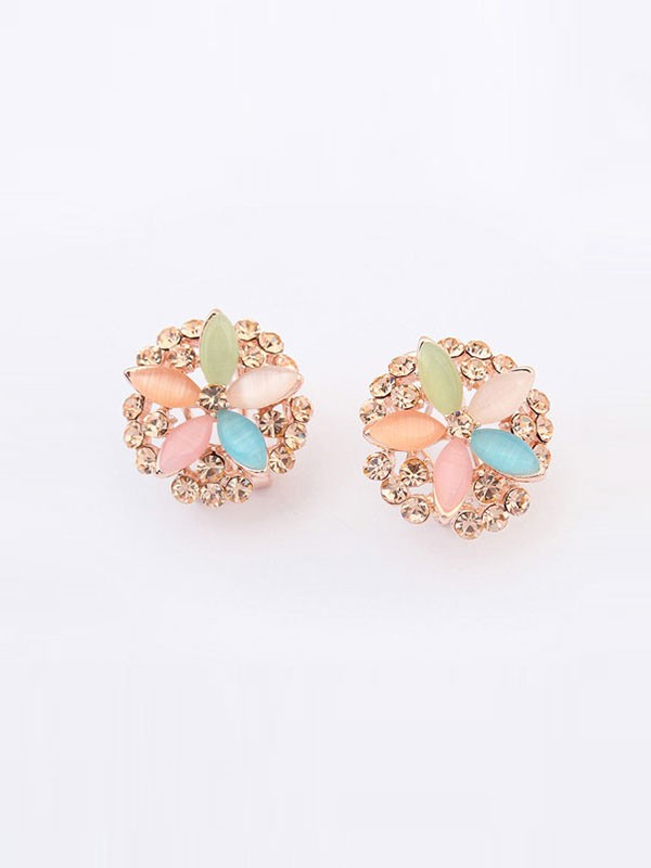 Occident Modeable Five Fleurs Exquisite Vente chaude Ear Clip
