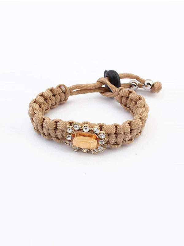 Occident All-match Woven Concise Vente chaude Bracelets